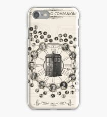 Doctor Who Companion Chart ! iPhone Case/Skin