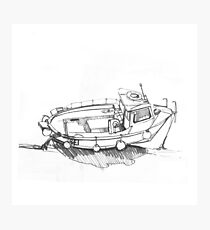 The Fishing Boat Photographic Print