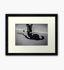 Rafa's Shadow Framed Print