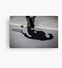 Rafa's Shadow Canvas Print