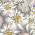 White Blooms by wolfepaw