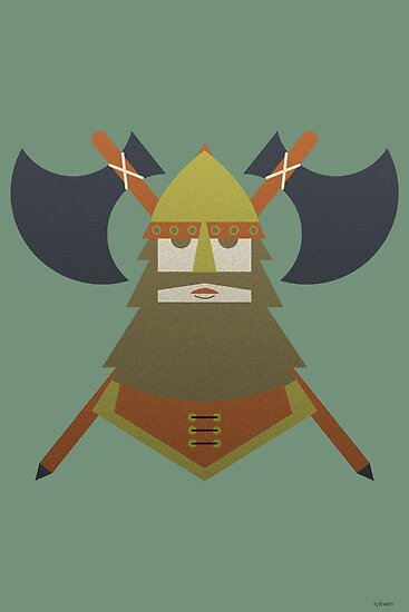Hornless Viking by Ro Nwosu