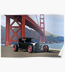 1927 Ford Model T Lakester Poster
