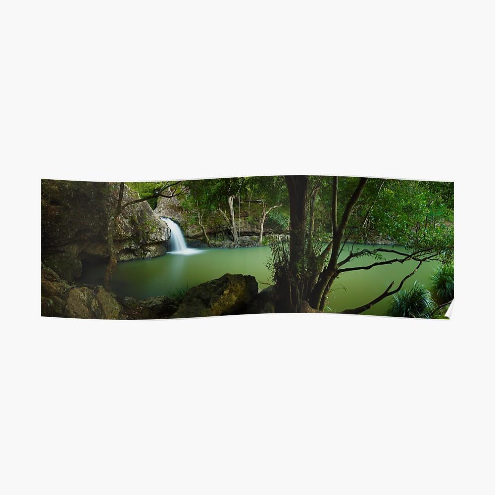 Kondalilla Falls, Montville, Queensland, Australia Poster