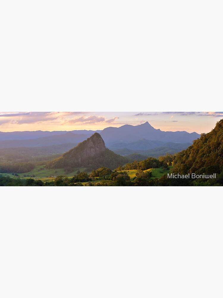 Doughboy Hill & Mt Warning, New South Wales, Australia by Chockstone