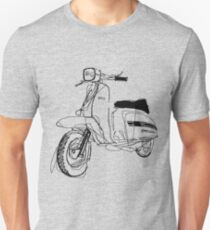 LAMBRETTA CUSTOM LINE ART DRAWING FOR GP200 Unisex T-Shirt