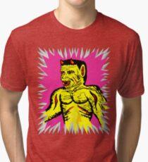 Yellow Devil Tri-blend T-Shirt