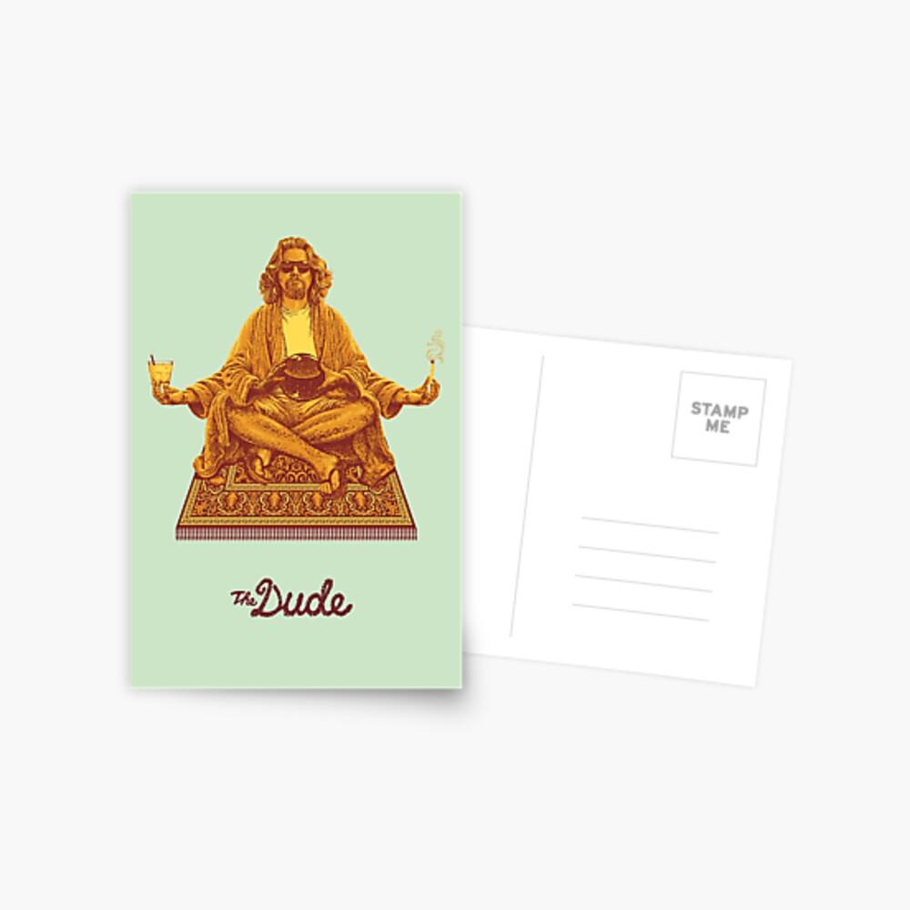 The Dude Postcard