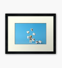 """Roll up! Roll up!"" Framed Print"