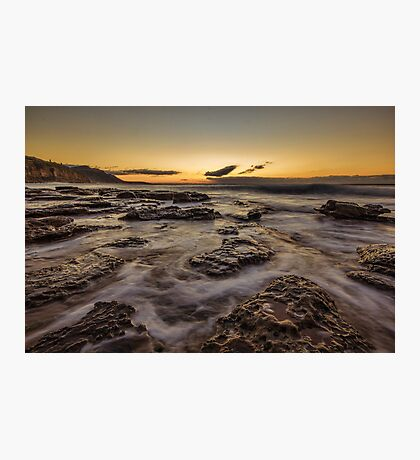 Rocky Sunrise Photographic Print