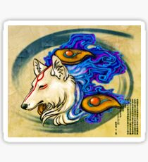 Ōkami Amaterasu Sticker Sticker