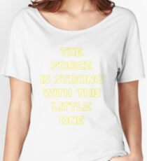 The Force Women's Relaxed Fit T-Shirt