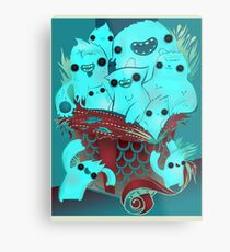 Monster Gift Metal Print