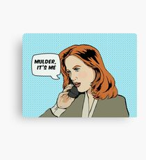 Pop Scully Canvas Print