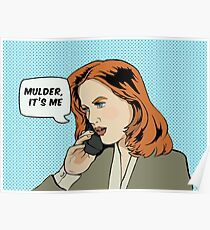 Pop Scully Poster
