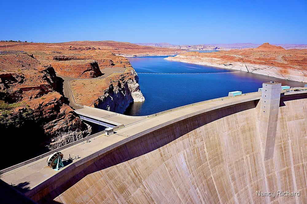 Glen Canyon dam by Nancy Richard
