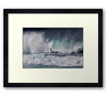 The Art Of Surfing In Hawaii 2o Framed Print