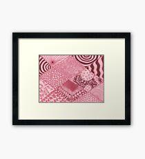 Mauve-elous Framed Print