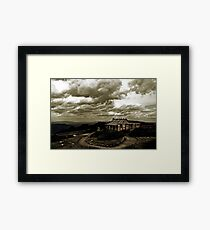 "Craig's Hut, ""The Man from Snowy River"" Framed Print"