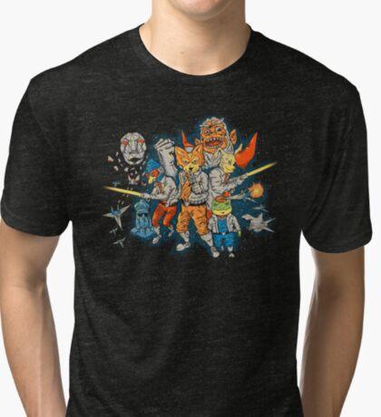 Star Team Tri-blend T-Shirt