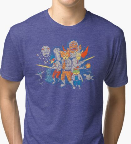Star Team Tri-blend T-Shirt