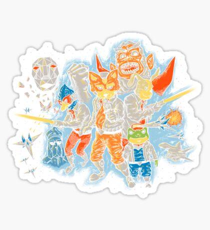 Star Team Sticker