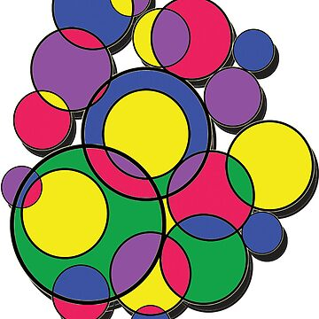 Circles Ipad Case/Cover by Nimi
