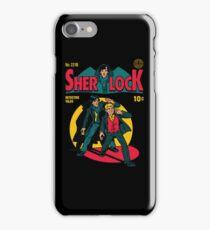 Sherlock Comic iPhone Case/Skin