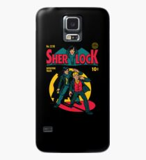 Sherlock Comic Case/Skin for Samsung Galaxy