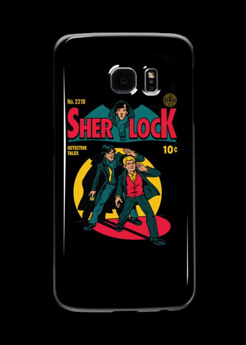 Sherlock Comic by harebrained