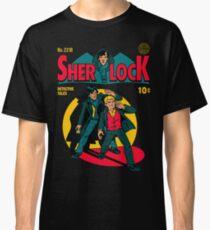 Sherlock Comic Classic T-Shirt