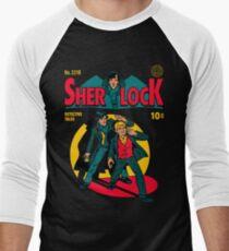 Sherlock Comic Men's Baseball ¾ T-Shirt