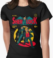 Sherlock Comic Women's Fitted T-Shirt