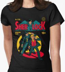 Sherlock Comic Womens Fitted T-Shirt