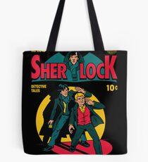 Sherlock Comic Tote Bag
