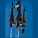 The Blue Angels 1  I-Pad Case by Jim Haley