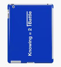 GI Joe: Knowing is half the battle (blue) iPad Case/Skin