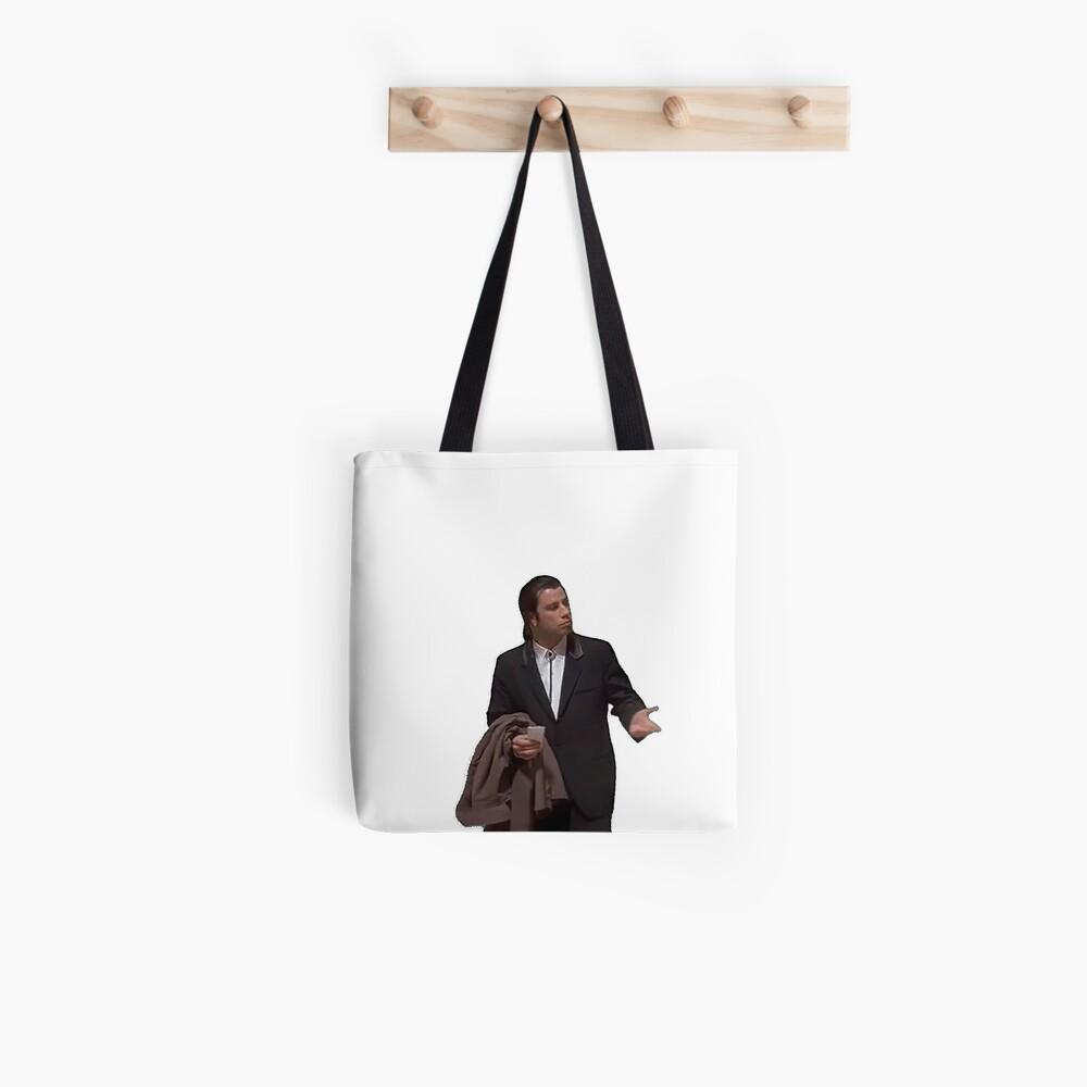 Verwirrt Travolta Tote Bag