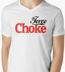 Force Choke Men's V-Neck T-Shirt
