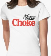 Force Choke Women's Fitted T-Shirt