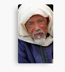 Old Man, Fes Morocco Canvas Print