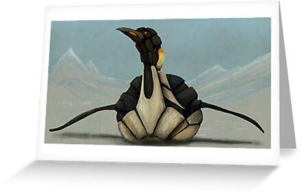 Mecha-Penguin by Adam Howie