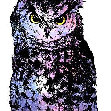 Galaxy Owl by Insane-Furrets