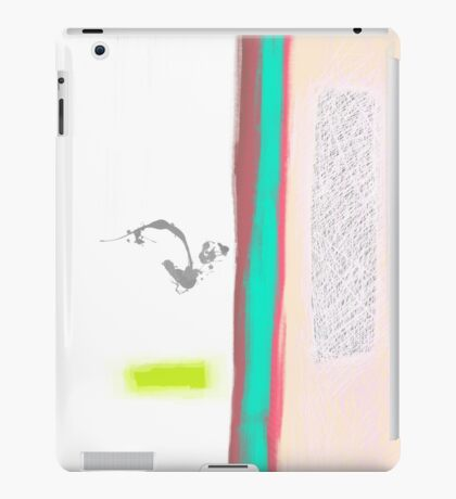 Boundaries of solitude iPad Case/Skin
