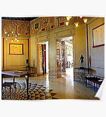 Villa Kerylos Salon Poster