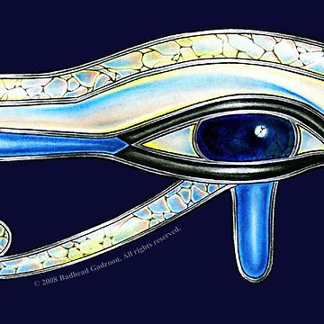 Opalite Eye of Ra by BadheadGadroon