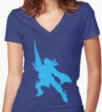 Siegfried III Women's Fitted V-Neck T-Shirt
