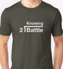 GI Joe: Knowing is half the battle (army green drab) T-Shirt