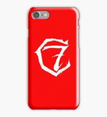 7c Red iPhone Case/Skin