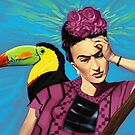 Frida Kahlo by Brad Collins